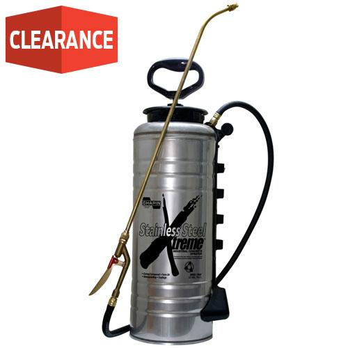 3.5-Gallon Xtreme Stainless Steel Concrete Open Head Sprayer
