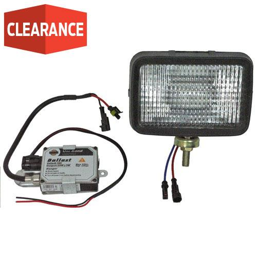 HID FLOOD LAMP  5 X 7  12V  C/