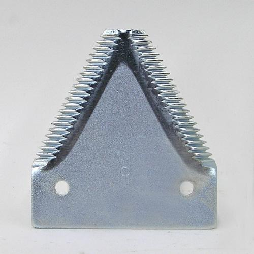 SICKLE SECTIONS, HEAVY, BIG TOOTH TOPSERRATED (10 SERRATIONS PER INCH), PLATED