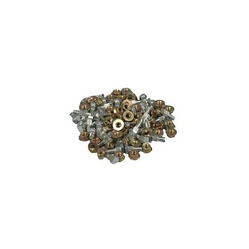 PKG OF 50 SECTION NUTS & BOLTS