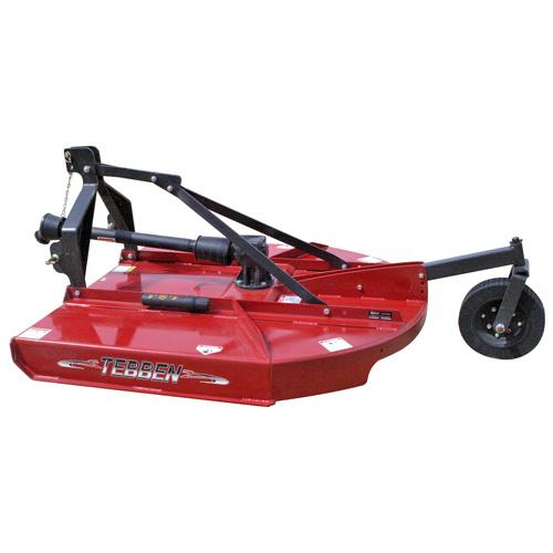 4' RED ROUND BACK ECONO CUTTER