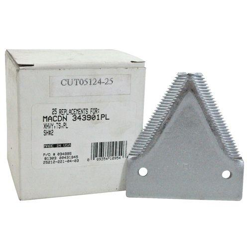 25 PACK OF 34390CR (CUT05133-1