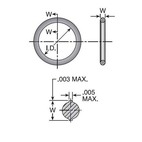 O-Ring -10 SAE Thread