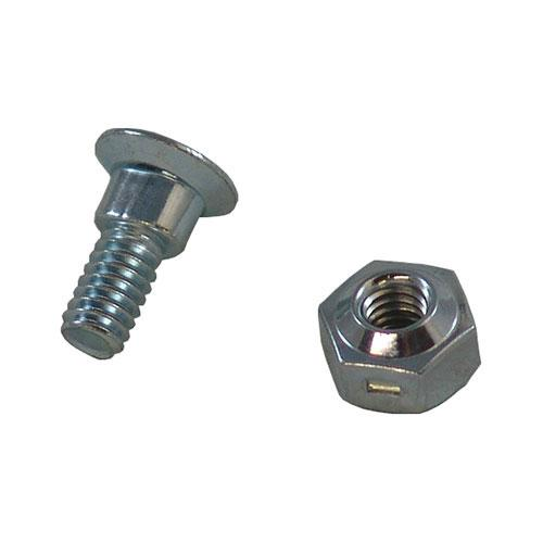 "5/8"" Bolt & Nut, Oval Shoulder, For Sections (B55-0955D)"