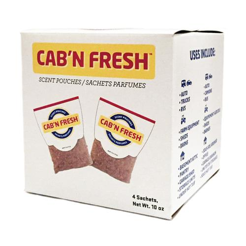 Cab' N Fresh (Box of 4 Pouches)