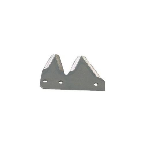 END SICKLE SECTIONS, EXTRA HEAVY, TOPSERRATED (14 SERRATIONS PER INCH), PLATED, LH