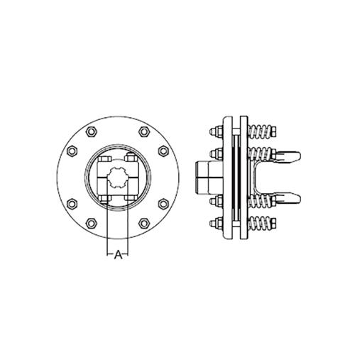 FRICTION CLUTCH 1-3/8