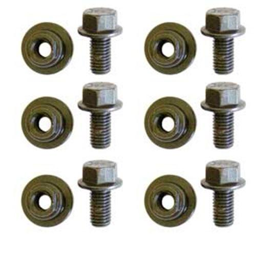 PACK OF 6 BOLTS AND NUTS NH