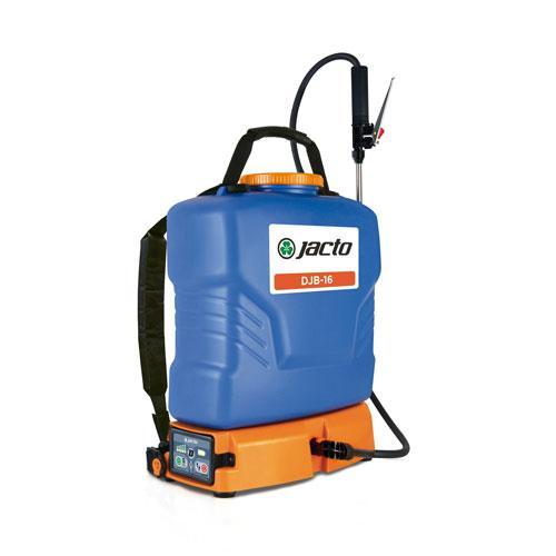 DJB-16 Blue 4 Gallon Battery Powered Backpack Sprayer