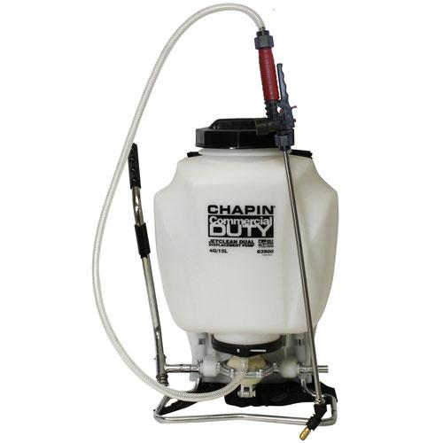 4 Gallon Self-Cleaning Backpack Sprayer With Hand Sprayer Combo