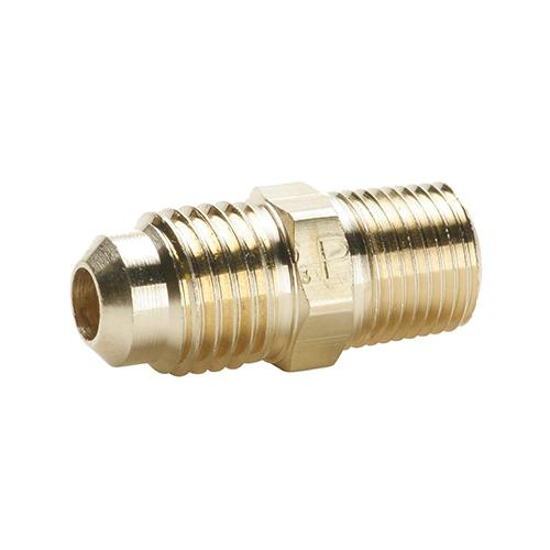 BRASS MALE CONNECTOR 3/8 SAE X