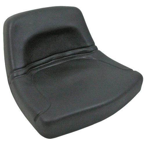 PAN SEAT  LOW BACK  BLACK *JAN