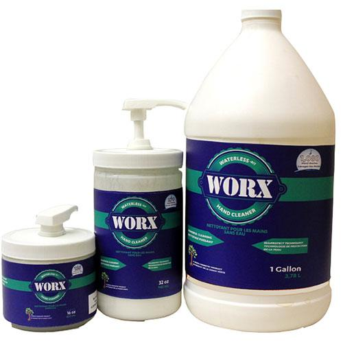 WORX WATERLESS HAND CLEANER 18