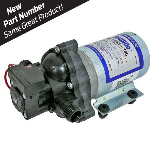 Pentair Shurflo® 2088 Series diaphragm pump 12V 3.0GPM 45PSI