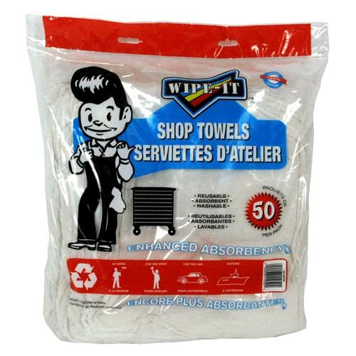 DELUXE SHOP TOWELS 50 / PACK *