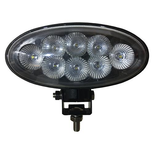 OVAL LED LIGHT W BOT BRKT SPOT