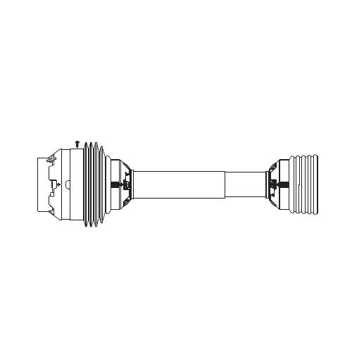 AW35-80,AS350 series easy lock guard set CV wide angle