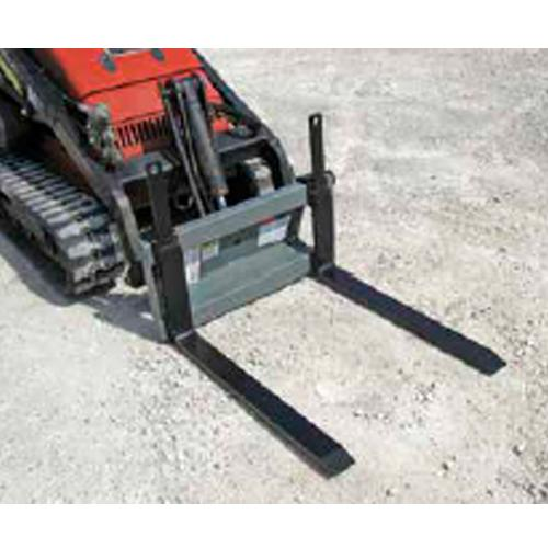 Mini Skid Steer Pallet Forks 1200 LBS