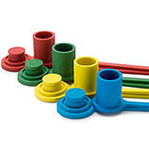DUST CAP RUBBER RED