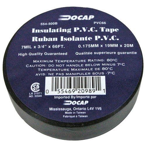 PVC TAPE 3/4 X 66'