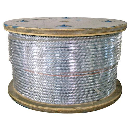 GALVANIZED CABLE ROLL OF 500FT