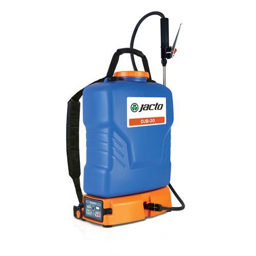 DJB-20 Blue 5 Gallon Battery Powered Backpack Sprayer