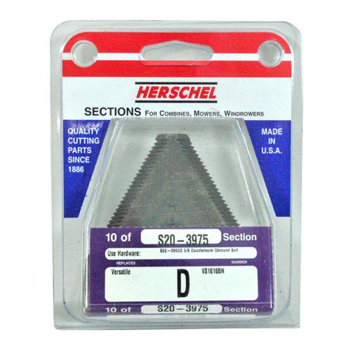 SECTION 14 TOOTH - NH, VERSATILE 10/PK (S20-3975)