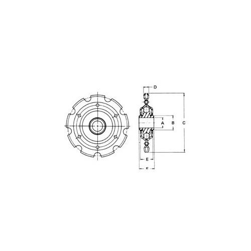 IDLER SPKT 5017-1/2 AETNA
