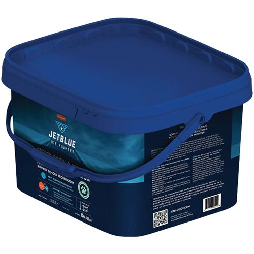10 KG PAIL JET BLUE ICE MELT