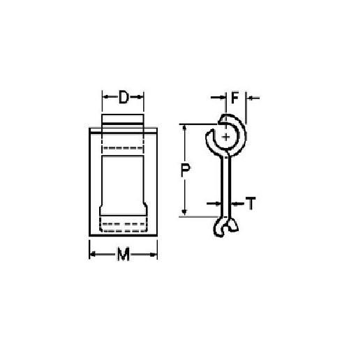 CHAIN STEEL DET 10FT/BOX