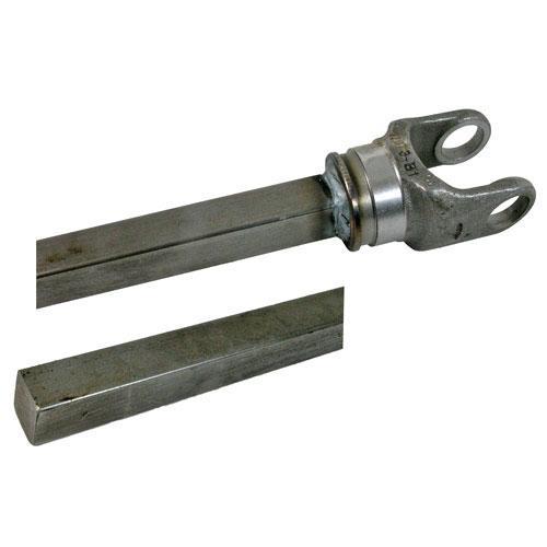12 series yoke and shaft, 1 x 1 1/8 rectangle