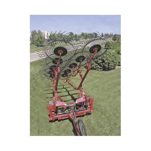 10 Wheel Pull Type Rake