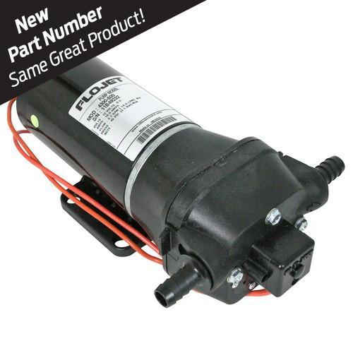 FLOJET 4300500A 3.5GPM 45PSI 12V Quad Diaphragm Pump
