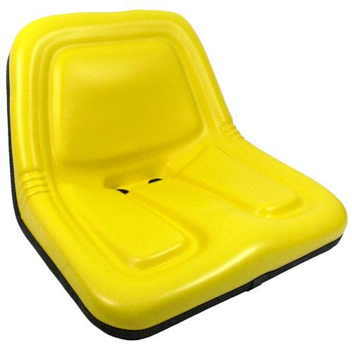 Deluxe High-Back Steel Pan Seat – Yellow