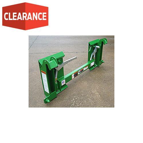 JD 200X/200CX/H120/H130/H160/D120/D160 to Skid Steer Quick Attach
