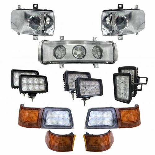 Complete LED Light Kit for Case/IH Magnums w/Upgraded Headlights, CaseKit-14