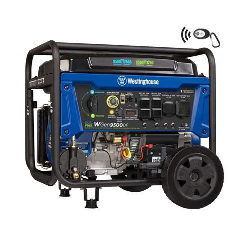 WGen9500DF Generator - Dual Fuel