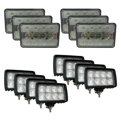 Complete LED Light Kit for Case/IH Combines, CaseKit-2