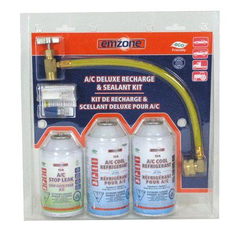 12A A/C Deluxe Recharge & Sealant Kit