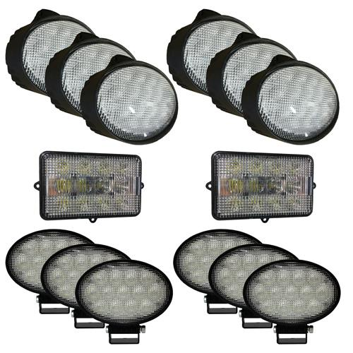 Complete LED Light Kit for John Deere Combines, JDKit-5