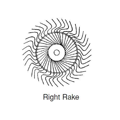 RAKE WHEEL R.H.