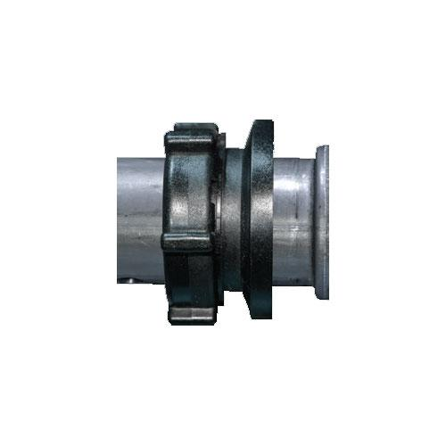 QF100 - Flanged Tubing Adapter, 3 pc