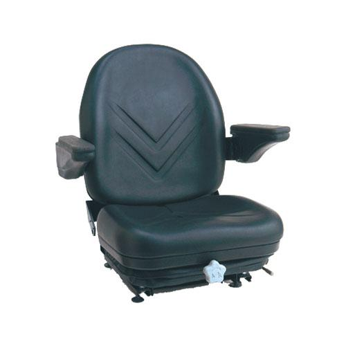High-Back Seat with Integrated Suspension (with armrests)