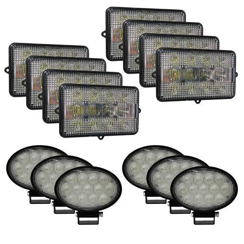 Complete LED Light Kit for John Deere Combines, JDKit-4