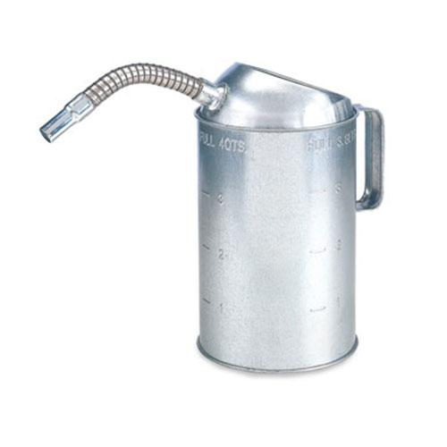 Galvanized Measure Can with Fl