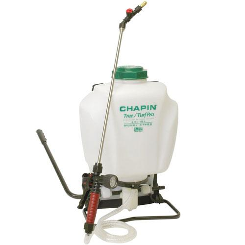 4 Gallon Tree & Turf Pro Commercial Backpack Sprayer with Stainless Steel Wand