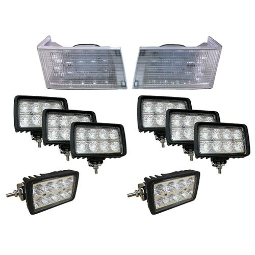 Complete LED Light Kit for Case/IH Magnum Tractors, CaseKit1