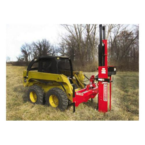 Skid Steer Mount Post Driver, Hydraulic Adjustment