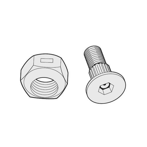 BOLTS & NUTS PKG OF 25   HFI O