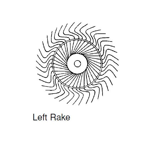 RAKE WHEEL L.H.